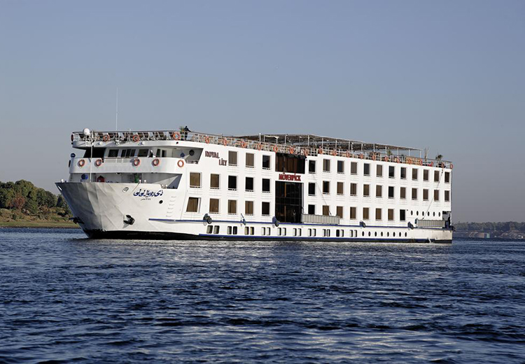 Movenpick Royal Lily Nile Cruise Luxor and Aswan Nile Cruises