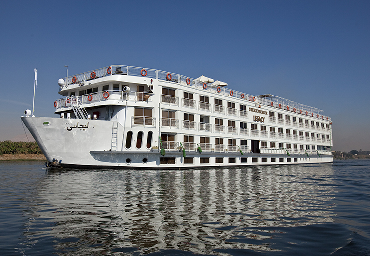 Steigenberger Legacy Nile Cruise Luxor and Aswan Nile Cruises