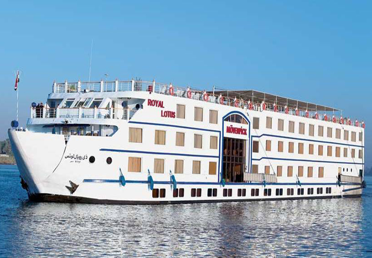 Movenpick Royal Lotus Nile Cruise Luxor and Aswan Nile Cruises