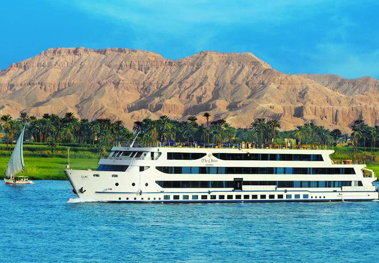Oberoi Zahra Nile Cruise Luxor and Aswan Nile Cruises
