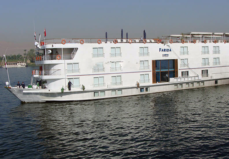 Sabena Farida Nile Cruise Luxor and Aswan Nile Cruises
