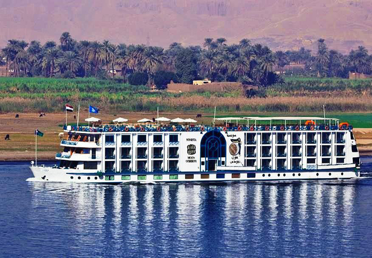 Sonesta Moon Goddess Nile Cruise Luxor and Aswan Nile Cruises