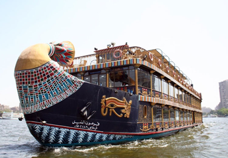 Nile Pharaohs Cruising Restaurant Cairo Dinner Cruises