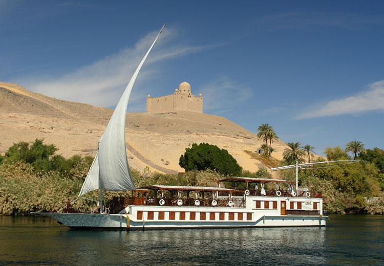Musk Dahabiya Boat The Temple of Medinet Habu