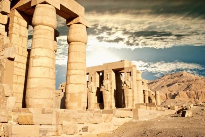 Temple of Ramesseum The Temple of Ramesseum