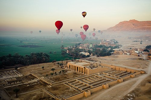 The Hot Air Balloon Sightseeing Tours