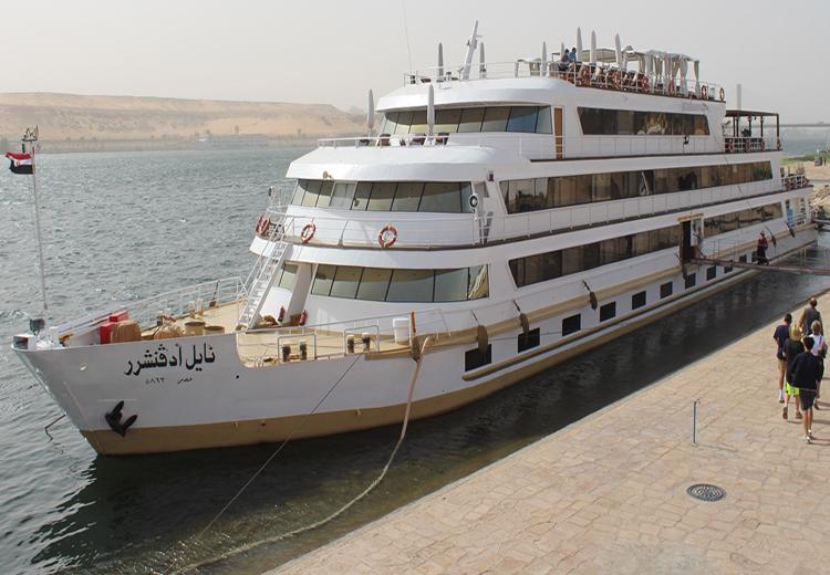 Nile Adventurer Cruise The Unfinished Obelisk